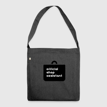 Official shop assistant shopping companion - Shoulder Bag made from recycled material