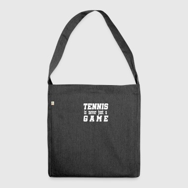 Tennis stadium betting - Shoulder Bag made from recycled material