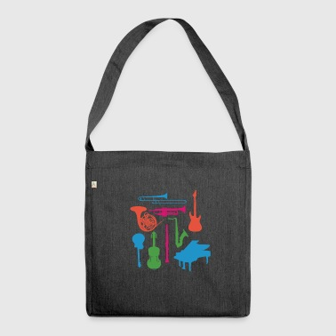 Musical Instruments - Shoulder Bag made from recycled material