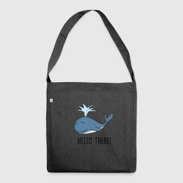 Hello There Hello - Shoulder Bag made from recycled material