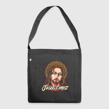 Jesus Christ Christ of Christ - Shoulder Bag made from recycled material