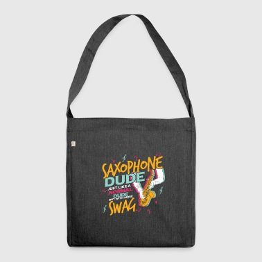 saxophone - Shoulder Bag made from recycled material