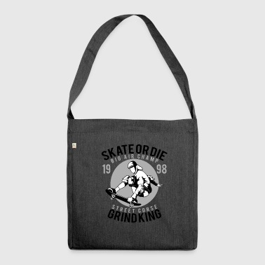 Skate Or Die - Borsa in materiale riciclato