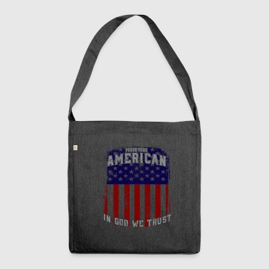 American - Shoulder Bag made from recycled material