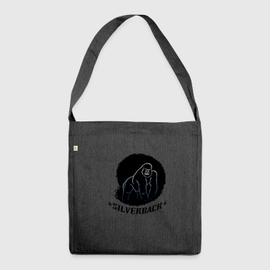 Gorilla - silverback - Shoulder Bag made from recycled material