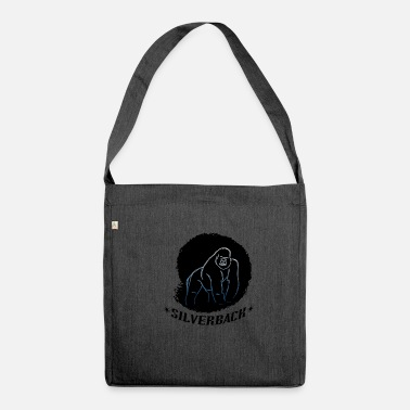 Silverback Gorilla - silverback - Shoulder Bag made from recycled material