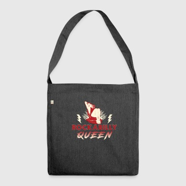 Rockabilly Queen - Shoulder Bag made from recycled material
