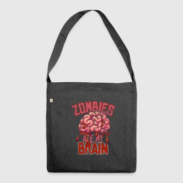 Zombie - Schultertasche aus Recycling-Material