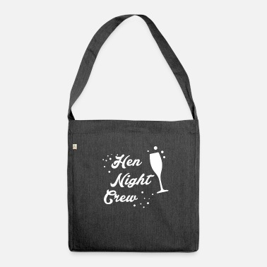 Hen Night Hen Night - Schultertasche aus Recycling-Material
