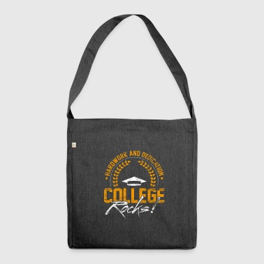 College Rocks - Shoulder Bag made from recycled material