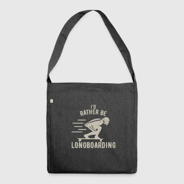 Longboarding - Shoulder Bag made from recycled material