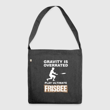 ultimate frisbee - Shoulder Bag made from recycled material