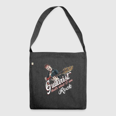Rockabilly guitarist - Shoulder Bag made from recycled material