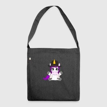 Jewicorn The Orthodox Jewish Unicorn - Shoulder Bag made from recycled material