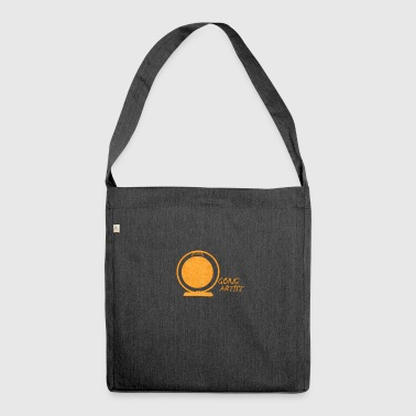 Gong Artist - Shoulder Bag made from recycled material