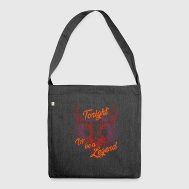 Bachelor Party JGA Wedding Party - Shoulder Bag made from recycled material