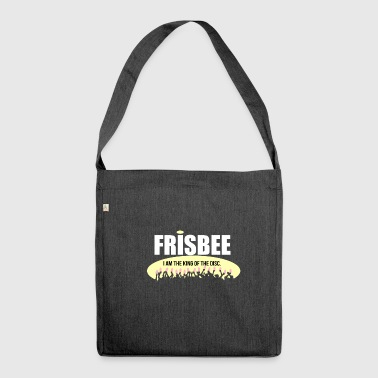 Frisbee - Shoulder Bag made from recycled material