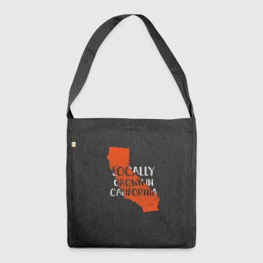 California, California - Shoulder Bag made from recycled material