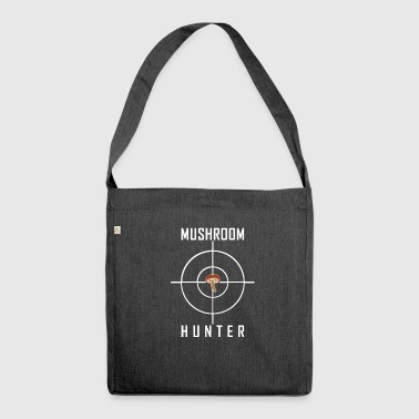 Mushroom hunter mushroom hunter mushroom picker gift - Shoulder Bag made from recycled material