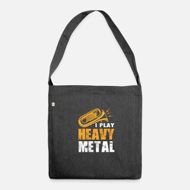 Brass Band Trumpet Tuba Musician Brass Band Brass Band Metal - Shoulder Bag made from recycled material