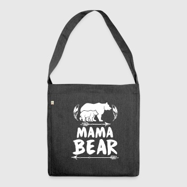 Mama Bear - Mama Bear - Shoulder Bag made from recycled material