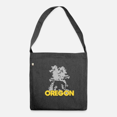 Sasquatch Bigfoot Oregon Sasquatch - Shoulder Bag recycled