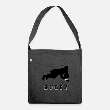 Rugby rugby - Sac bandoulière recyclé