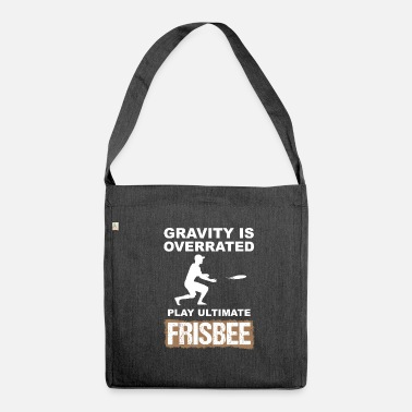 Ultimate Frisbee ultimate frisbee - Shoulder Bag made from recycled material