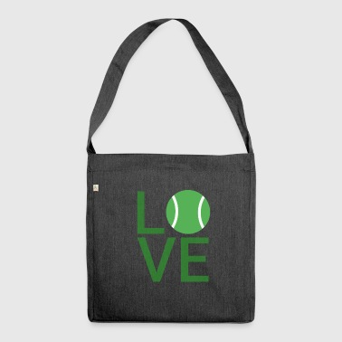 Love Tennis - love tennis - Shoulder Bag made from recycled material