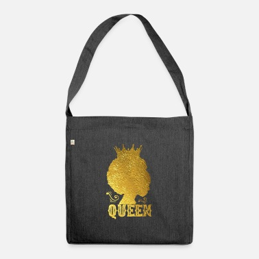 Afro Afro Queen - Borsa in materiale riciclato