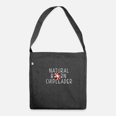 Chip Leader Natural Born Chip Leader Gift T-Shirt - Shoulder Bag recycled