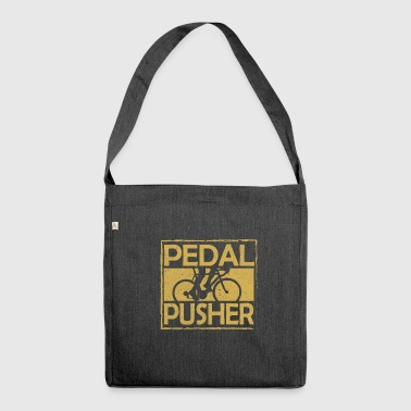 Cycling Cycling and cycling - Shoulder Bag made from recycled material