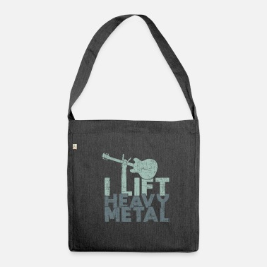 Heavy Metal Je relance le heavy metal heavy metal - Sac bandoulière 100 % recyclé