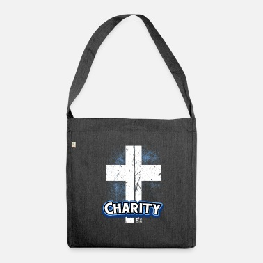 Charity Charity Cross - Shoulder Bag made from recycled material