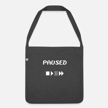 2abd9efcab9c Pause pause - Shoulder Bag recycled