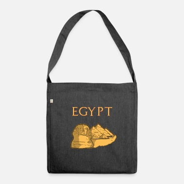 Egypt egypt - Shoulder Bag made from recycled material
