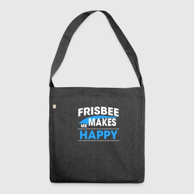 Frisbee FRISBEE - Shoulder Bag made from recycled material