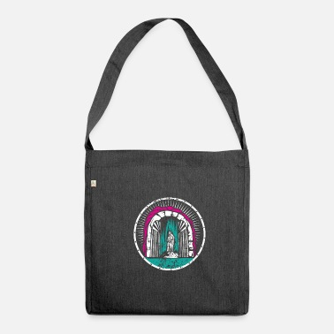 Illustration Illustration - Schultertasche aus Recycling-Material