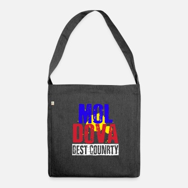 Ukraine Moldova's best country - Shoulder Bag made from recycled material