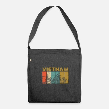 Vietnam Vietnam - Shoulder Bag made from recycled material