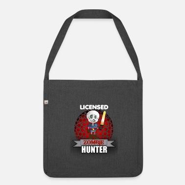 Licensed Zombie Hunter  amp  Killer - Shoulder Bag recycled 832ecf55317e0
