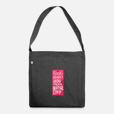 Swot Books Books - Shoulder Bag made from recycled material