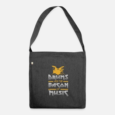 Drums Drummer Drums Drums Drums - Shoulder Bag made from recycled material