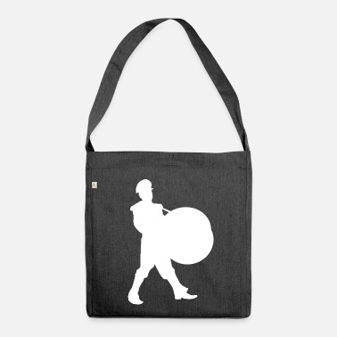 Drums Drum / drum player / drum - Shoulder Bag made from recycled material