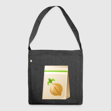 onions halloween vegetables vegetables5 - Shoulder Bag made from recycled material