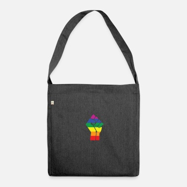 Pride Gay Pride gift for Gays And Lesbians - Shoulder Bag recycled