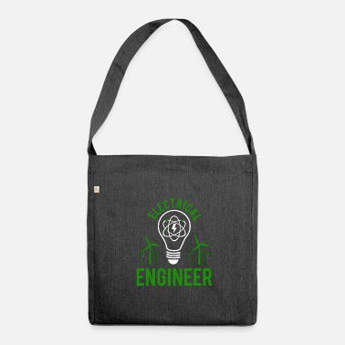 Electricity Electrical engineer - Shoulder Bag recycled