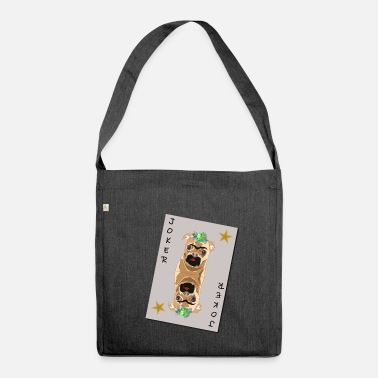 Joker Joker Pug - Borsa in materiale riciclato