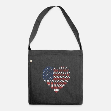 State United States - Shoulder Bag made from recycled material