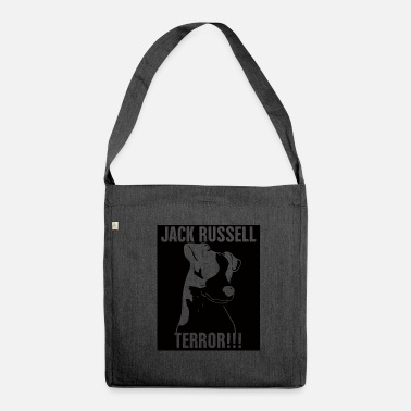 Jack Dog / Jack Russell: Jack Russel Terror !!! - Shoulder Bag recycled